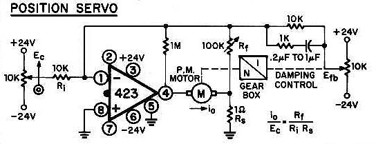 model 425 d c  operational amp